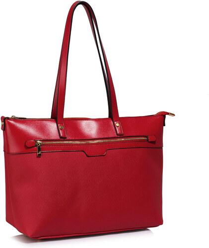 Moda 1321 LS Γυναικεία τσάντα ώμου - Κόκκινη - Glami.gr fa626003a37