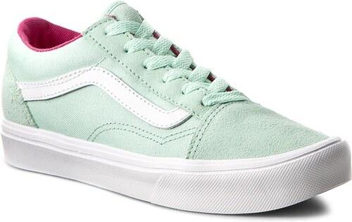 ed3a9bbe331 Πάνινα παπούτσια VANS - Old Skool Lite VN0A38HCN0U (Pop) Bay/True White