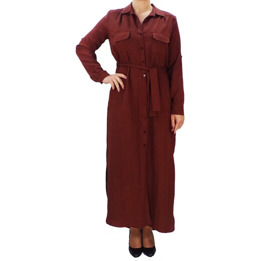f8bbb83f517 Γυναικείο Φόρεμα Forel 505094 Σοκολά forel 505094 sokola - Glami.gr