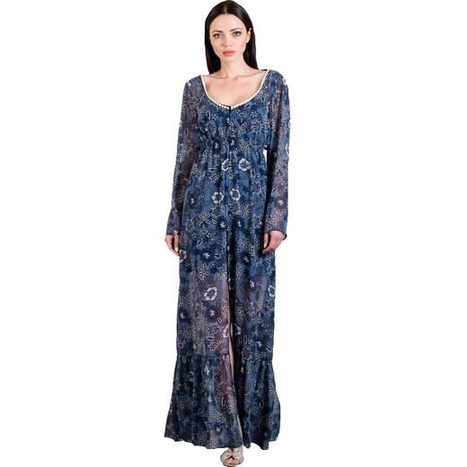 f3f734d4f701 Be you Maxi φόρεμα-καφτάνι από μουσελίνα - Glami.gr