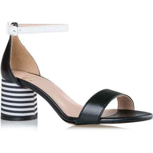 Mairiboo by Envie Shoes Γυναικεία Πέδιλα M03-07553-34 Μαύρο STRIPE A POSE  413443 - Glami.gr 221646f0641