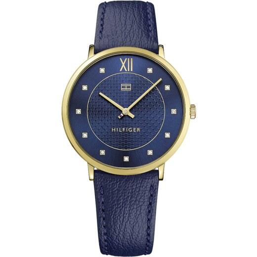 Ρολόι Tommy Hilfiger Sloane με μπλε λουράκι 1781807 - Glami.gr 8e45478d3a9