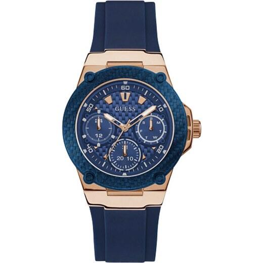 Ρολόι Guess πολλαπλών ενδείξεων με μπλε λουράκι W1094L2 - Glami.gr 6ab5105b2c6