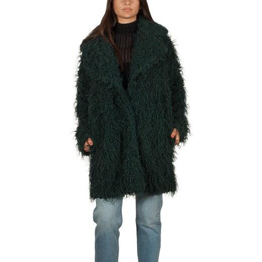 Minimum Gyrit faux-γούνινο παλτό σκούρο πράσινο - Glami.gr 20fbf95c87b
