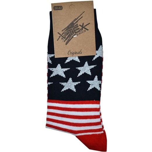 Ανδρική Κάλτσα Με Σχέδιο Βαμβακερή