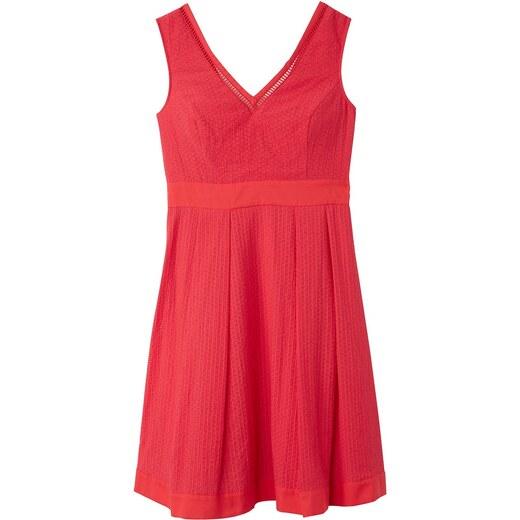 47177fe7a1f BENETTON Αμάνικο φόρεμα με V και μήκος μίντι - Glami.gr