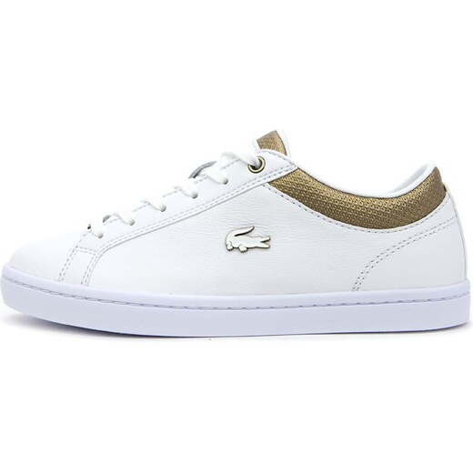 LACOSTE STRAIGHTSET 118 1 ΔΕΡΜΑΤΙΝΑ SNEAKERS ΓΥΝΑΙΚΕΙΑ LACOSTE ΛΕΥΚΟ (7-35CAW0064216)  - Glami.gr 283640c717d