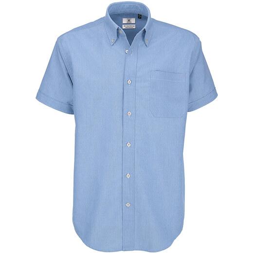 b0dd0b0b39cd OXFORD BLUE 2XL Κοντομανικο πουκαμισο b   c oxford ssl men - Glami.gr