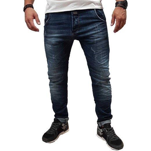 e9cd03f4714e Edward - 18.1.1.84.150 - Napier - Tapered Legs - Blue - Παντελόνι Jeans -  Glami.gr