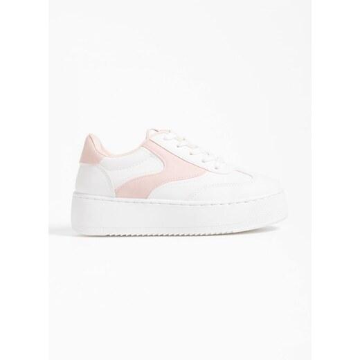 The Fashion Project Δίχρωμα flatform sneakers - Λευκό Ροζ - 05306059005 -  Glami.gr 9fefbc9d7fb