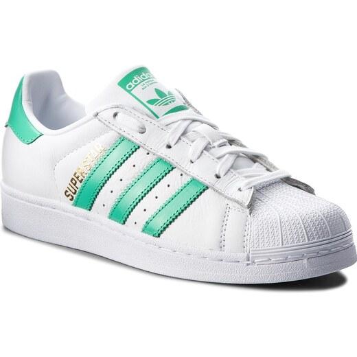3d3730977e9 Παπούτσια adidas - Superstar B41995 Ftwwht/Hiregr/Goldmt - Glami.gr