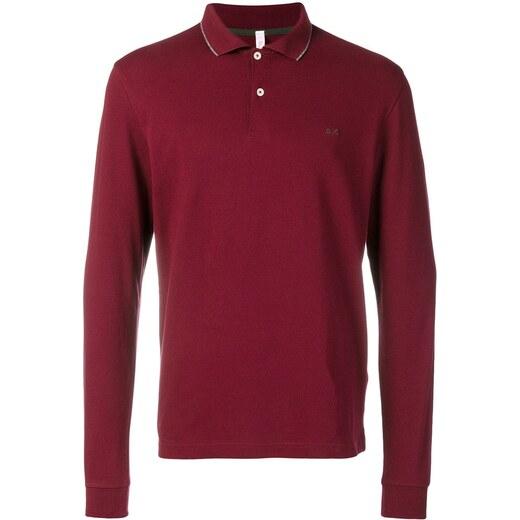 645026146d33 Sun 68 longsleeved polo shirt - Red - Glami.gr