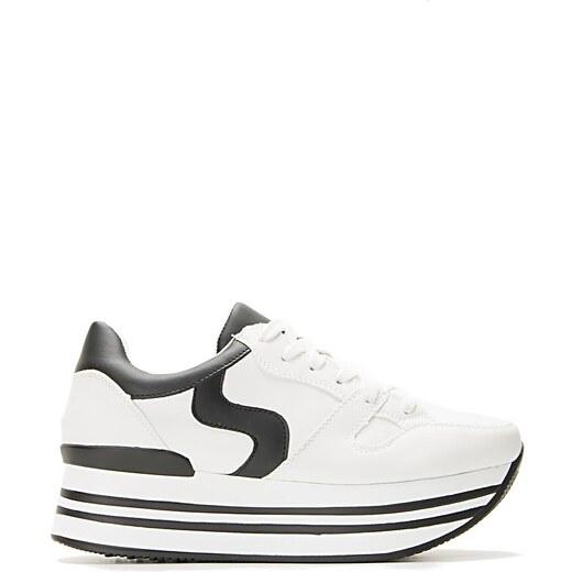 Luigi Sneakers Flatform - Μαύρο - 005 - Glami.gr f86aea7f263