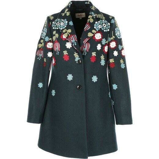 DERHY Παλτό με κεντημένα λουλούδια - Glami.gr 52e8044def2