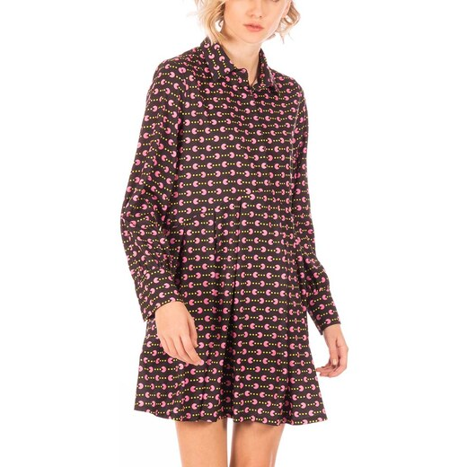 Minueto Pacman σεμιζιέ φόρεμα καφέ-ροζ - Glami.gr d5848ea1d75