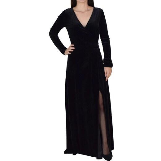 aeb0d80547fd Maxi Φόρεμα Από Βελούδο Toi   Moi 50-3586-28 Μαύρο toimoi 50-3586-28 mayro  - Glami.gr