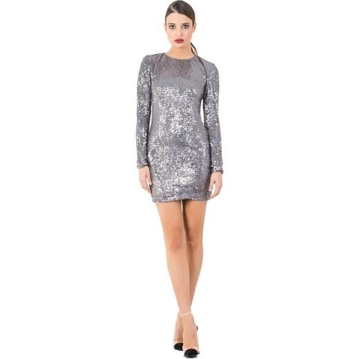 54ac605897a9 DeCoro F22110 Φόρεμα με Παγιέτες - ΑΣΗΜΙ - 16 - Glami.gr