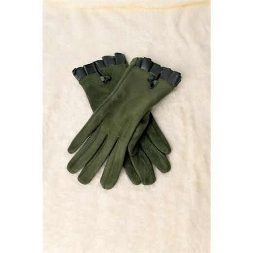 Potre Γυναικεία βελούδινα γάντια - Glami.gr 4f76110eda9