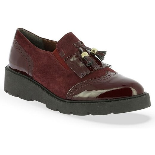 f3408d1a77c Γυναικεία Δερμάτινα Brogues Παπούτσια Parex - Μπορντώ - Glami.gr