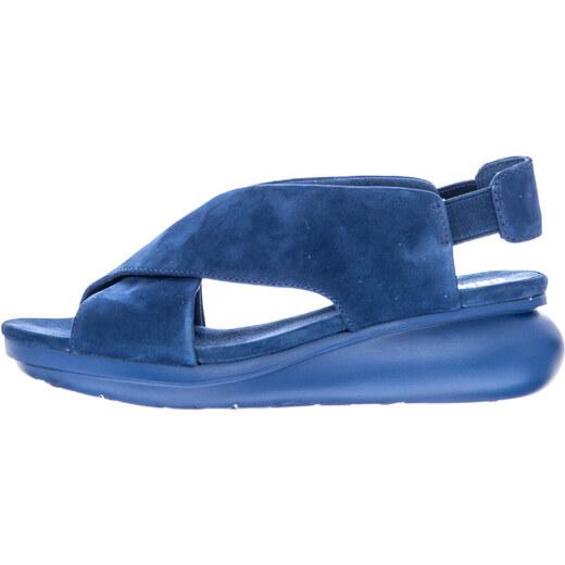 9d0df8bab17 Γυναικείες Πλατφόρμες Χαμηλές K200066 Μπλε Δέρμα Καστόρι Camper - Glami.gr