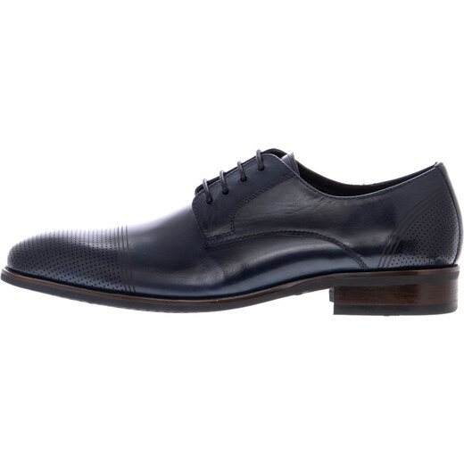 5e81a5b593 Ανδρικά Παπούτσια Δετά B70.09583 Μπλε Δέρμα Bocca Lupo - Glami.gr