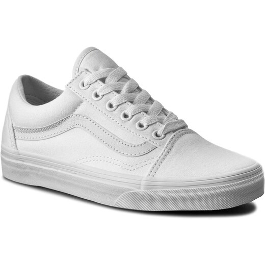 37da2ea28cf Πάνινα παπούτσια VANS - Old Skool VN000D3HW00 True White - Glami.gr