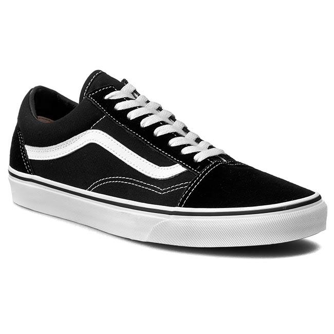 eaec3e6a115 Πάνινα παπούτσια VANS - Old Skool VN000D3HY28 Black/White - Glami.gr